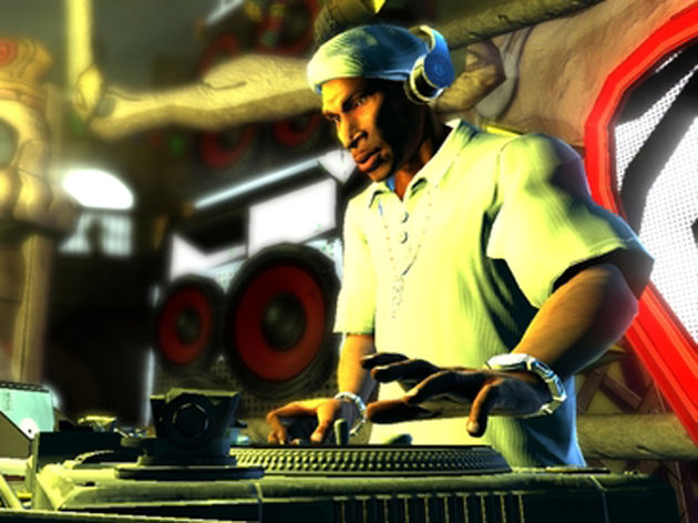 Grandmaster Flash in DJ Hero