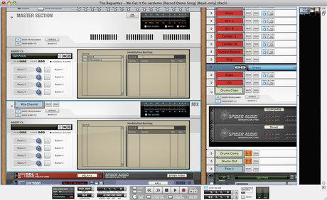 Record mixer