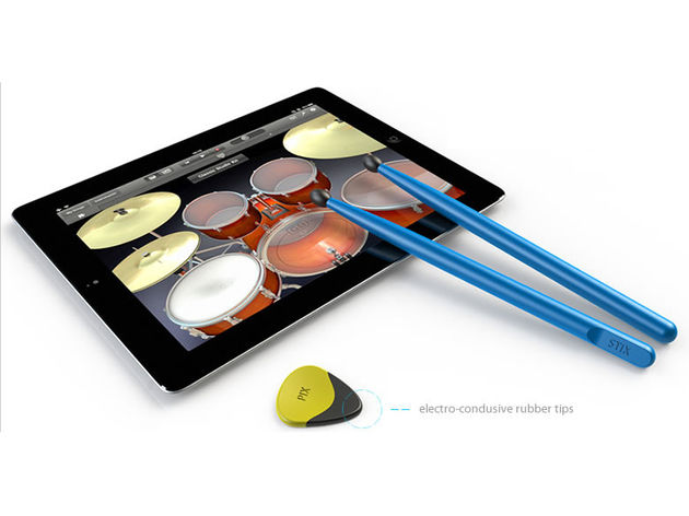 Strum or hit your iPad with Pix & Stix.
