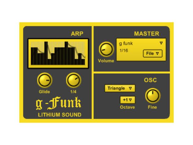 Lithiumsound GFunk