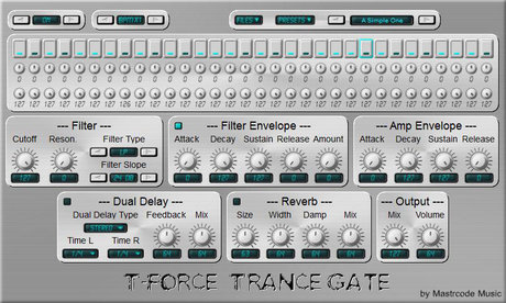 Mastrcode music t-force trance gate