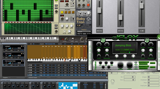 Looking for new free instruments and effects? Step this way.