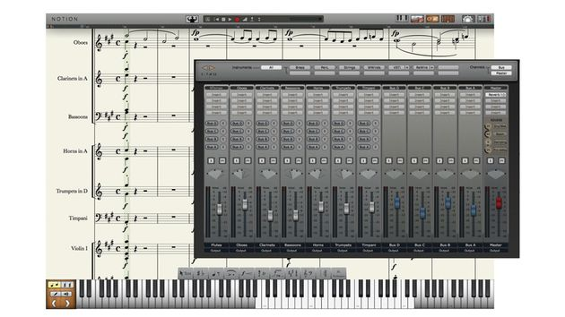 Notion 4 has features for composing and playback.