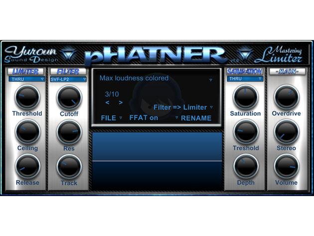 Yuroun Sound Design YSD-Phatner