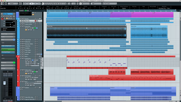 Cubase 7 will be released next month. Click though for screenshots of the MixConsole and Chord Track.