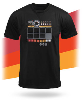 Drum machine T-shirt