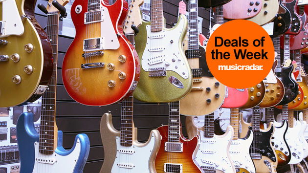 MusicRadar deals of the week: guitar, tech and drum gear