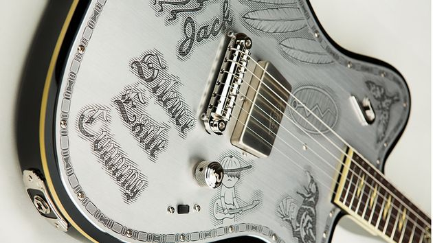 We gotta admit – even Johnny Depp's guitar is good looking!