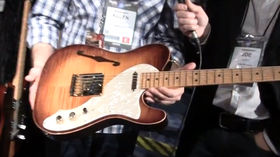 NAMM 2013 VIDEO: Fender Select Series adds six new models