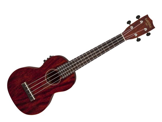 G9110-L Concert Long-Neck Acoustic/Electric Ukulele with Gig Bag
