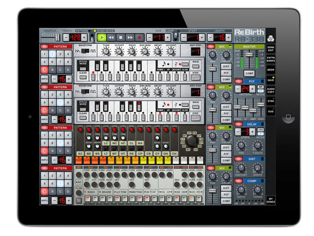 Propellerhead Rebirth iPad, 1.3 £6.99/$9.99