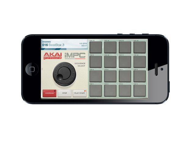 Akai iMPC for iPhone, £1.99/$2.99