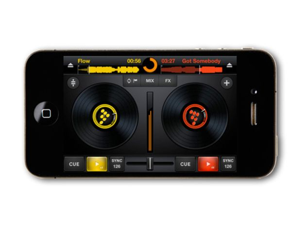 Mixvibes CrossDJ for iPhone, free