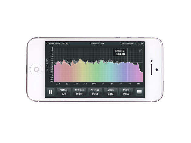 ONYX Apps Spectrum Analyzer, £10.49/$14.99