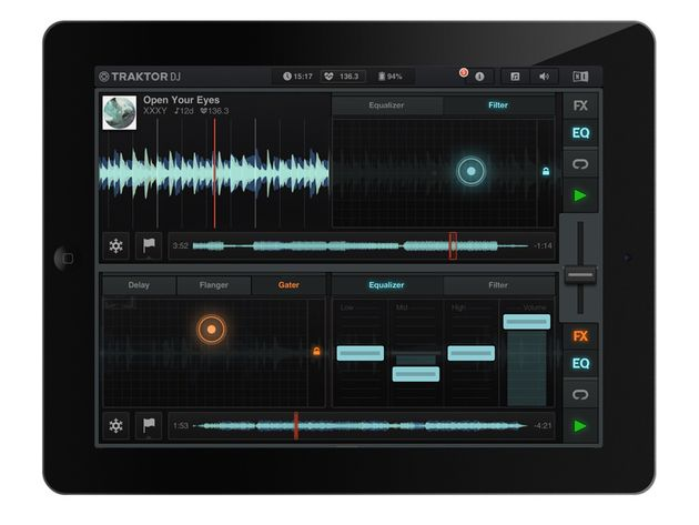 Native Instruments Traktor DJ/Traktor DJ for iPhone, £13.99/$19.99 // £2.99/$4.99