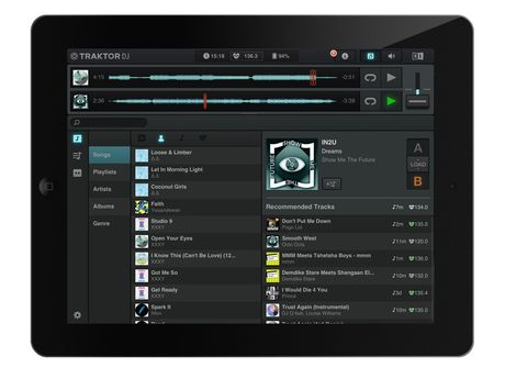 Traktor DJ's integration with its PC/Mac counterpart is its best feature.