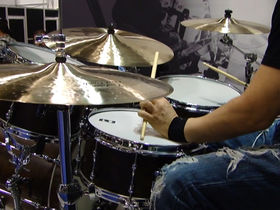 NAMM 2012 VIDEO: Mapex's Black Panther Retrosonic drum kit