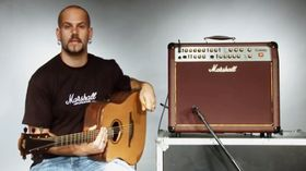 VIDEO: demo of Marshall AS100D acoustic guitar amplifier