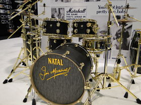 NAMM 2012 VIDEO: Natal Drums American Walnut Series