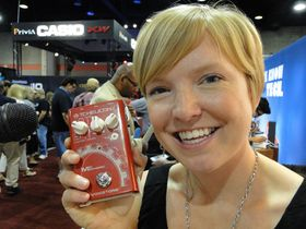 Summer NAMM 2012 video: TC-Helicon VoiceTone Mic Mechanic demoed
