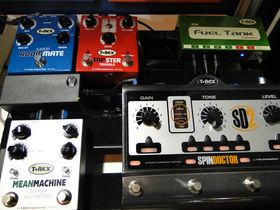 Summer NAMM 2012 video: new T-Rex pedals demoed