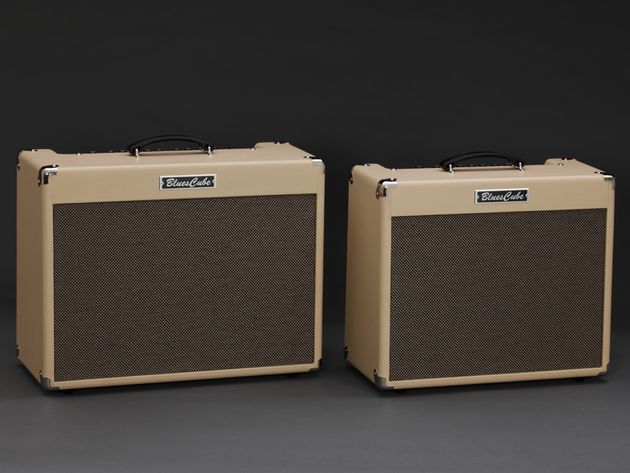 Roland's new Blues Cube Artist and Stage guitar amps