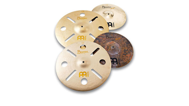 Meinl Byzance Serpant Hi-hat & Vintage Trash Crashes