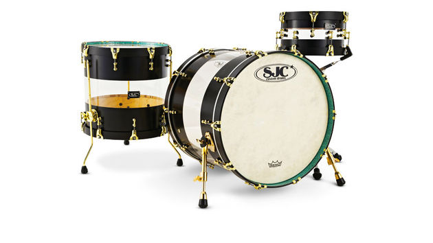 SJC Custom Hybrid Drum Kit