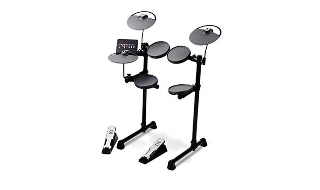 The DTX400 module contains acoustic drum sounds derived from Yamaha's own amazing acoustic kits