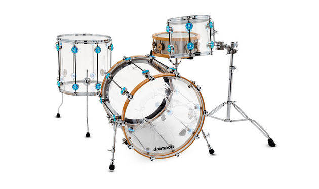 Chequerplate Drums LED Series drum kit
