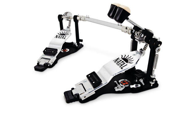 Bullet & Kitch/Natal hybrid double kick pedal