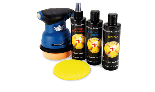 Cymbal Doctor Home Pro Cymbal Cleaning Kit