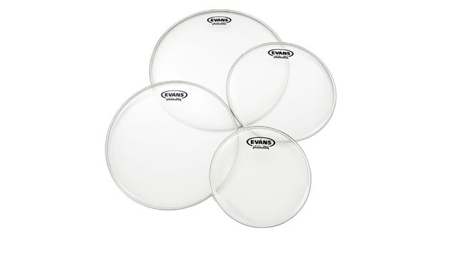 Evans Level 360 drum heads