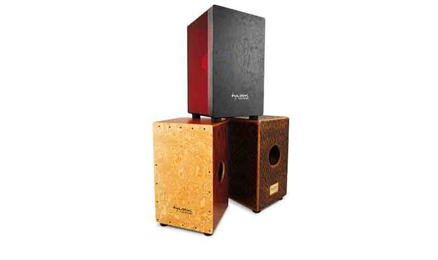 Tycoon Cherry Red Acrylic Cajon