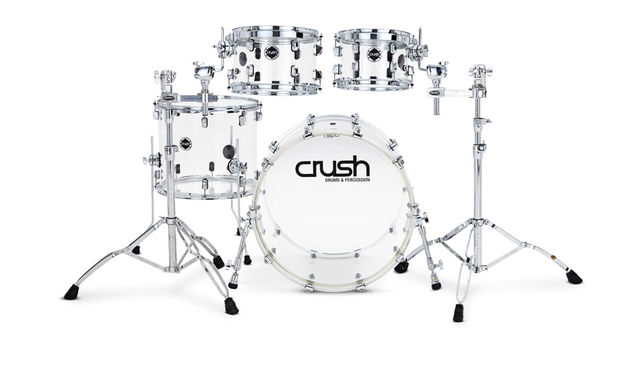 Crush Drums Acrylic drum kit