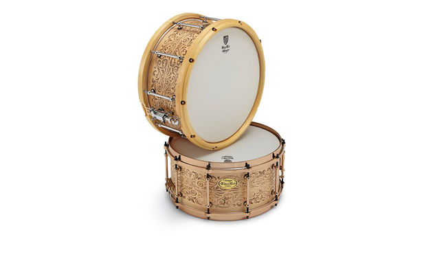 WorldMax Laser Engraved Maple Snare