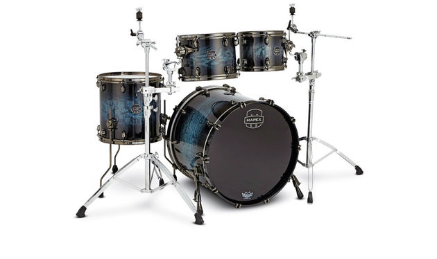 Mapex has retained the familiar maple/walnut hybrid of the Saturn series