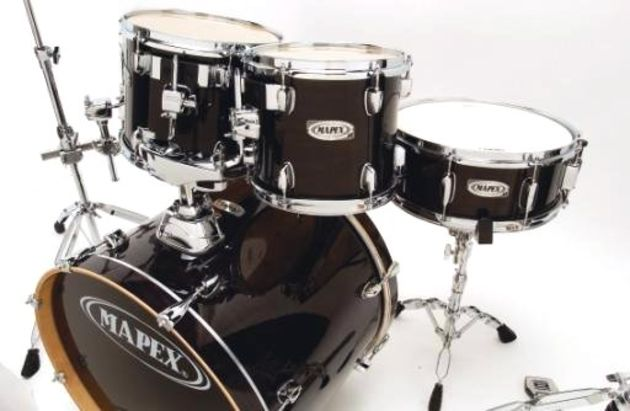 Some features normally found on Mapex's higher ranges are included.