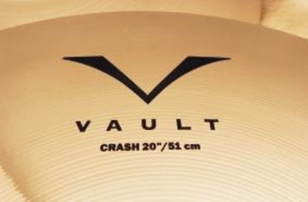 The word 'Vault' conjures up an image of a cache of vintage cymbals.
