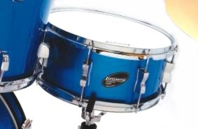 The snare drum is really very decent straight from the box.