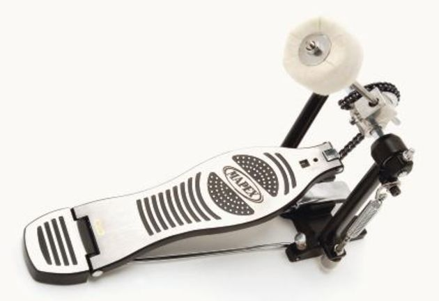 The bass drum pedal.