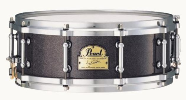 Virgil Donati went for a maple and birch mix with die-cast hoops.