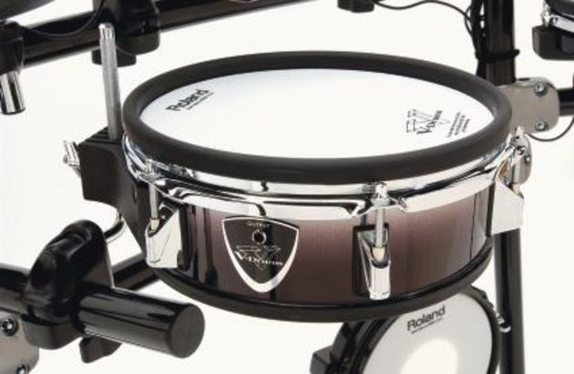 "The 10"" snare supercedes the 8"" version in the TD-8K setup"