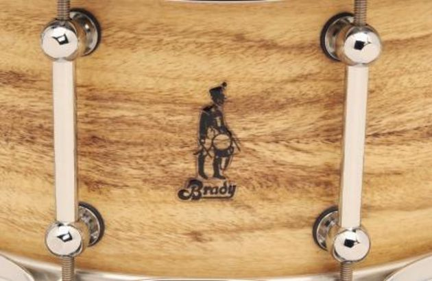 Each drum has ten of Brady's custom double-ended pipe lugs.
