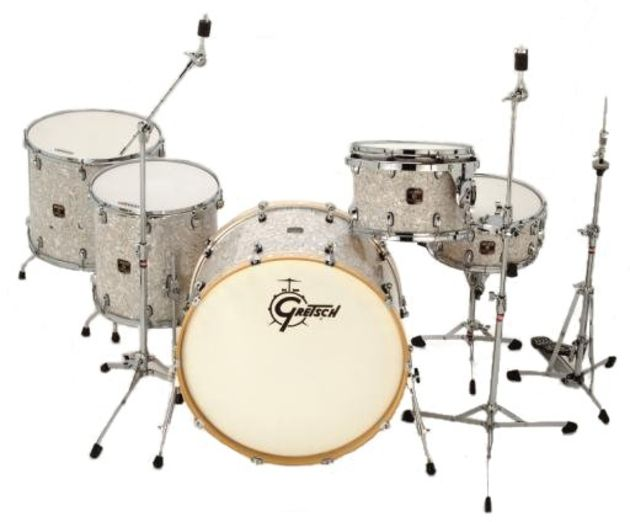 Supersized: Gretsch's latest Catalina Series drum kit.
