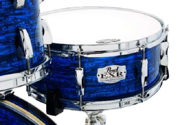 The snare delivers crispness and crunch.
