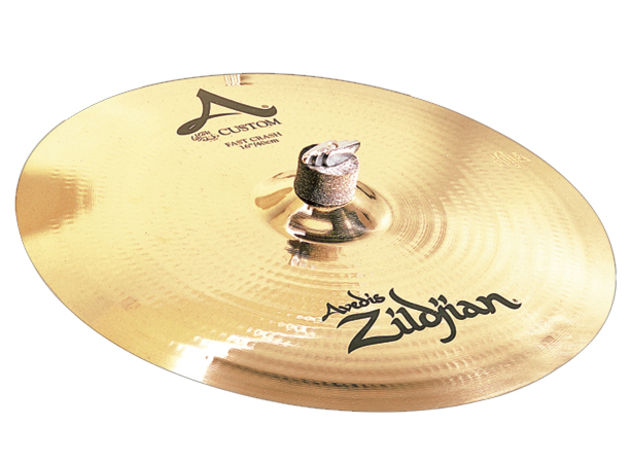 Zildjian's A Custom range is full of crisp and sophisticated sounds.