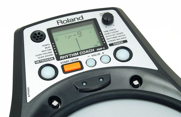 The RMP-3 combines two essential tools – a metronome and a practice pad