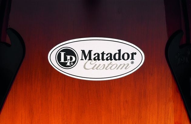 LP's Matador Custom line slots between the beginner-targeted Aspire series and its various pro ranges.