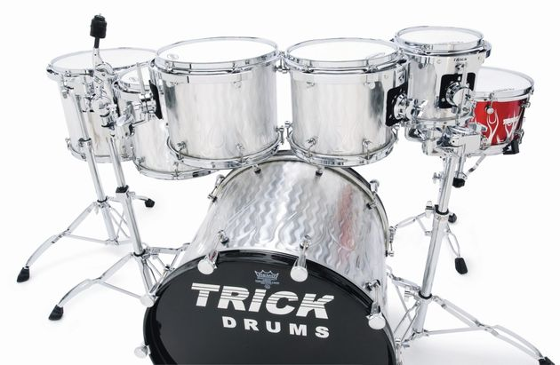 Trick point to the thinness of its drum shells as a positive, low-end enhancing factor in the sound of all of its drums